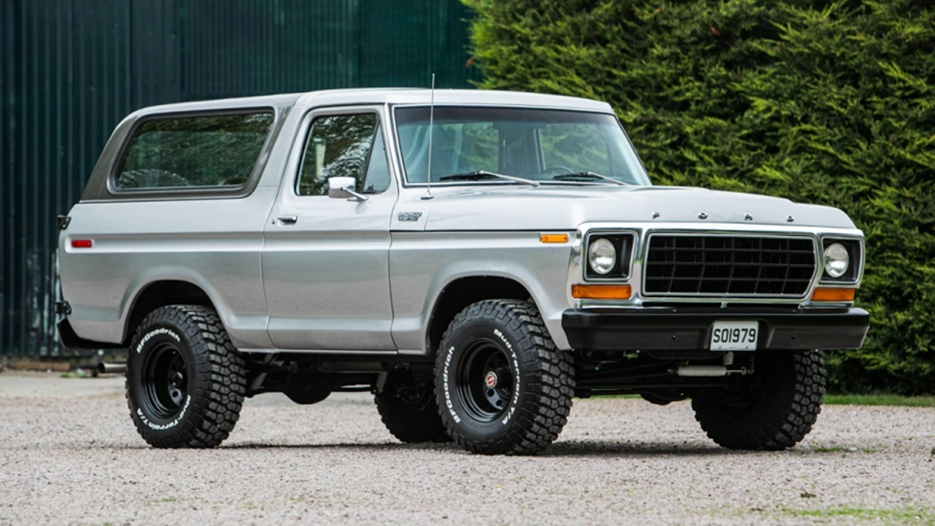 1978 Ford Bronco NEC Auction