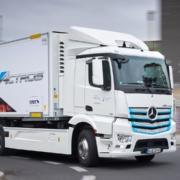 Mercedes electric truck