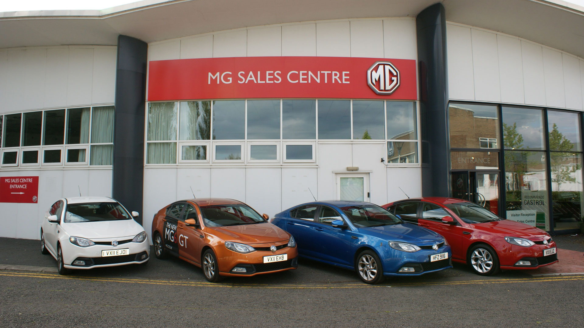 Approved Used MG