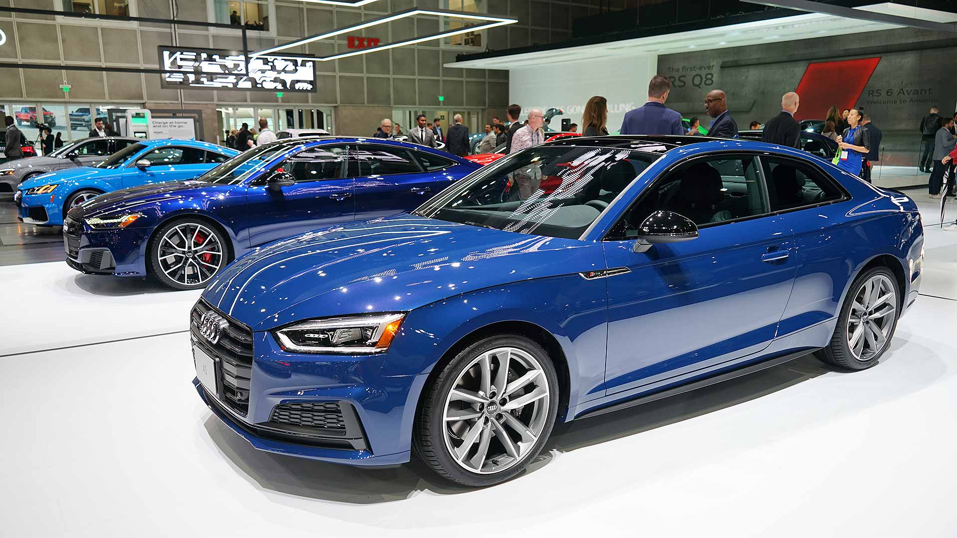 Audi's three shades of blue