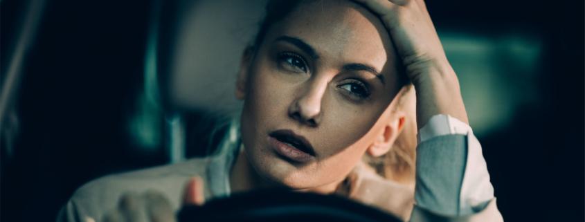 British drivers stuck in traffic
