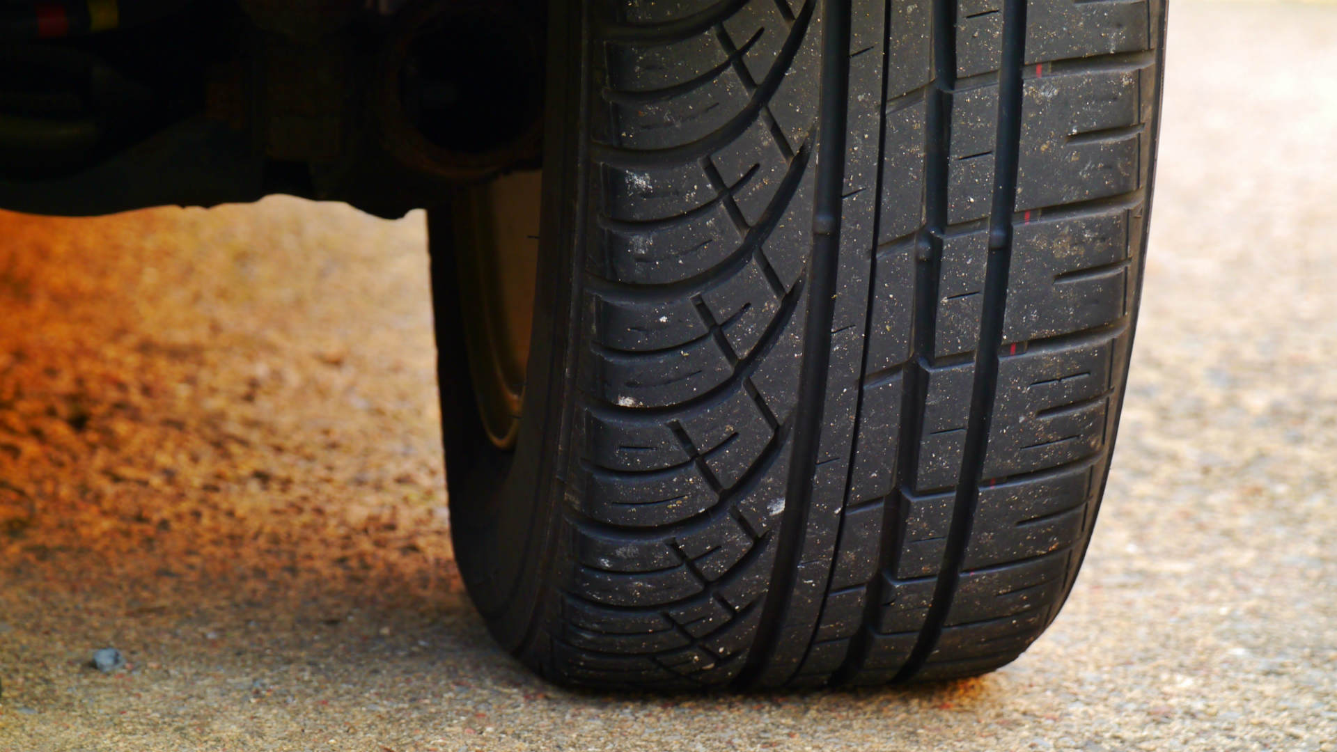 Car tyre wear