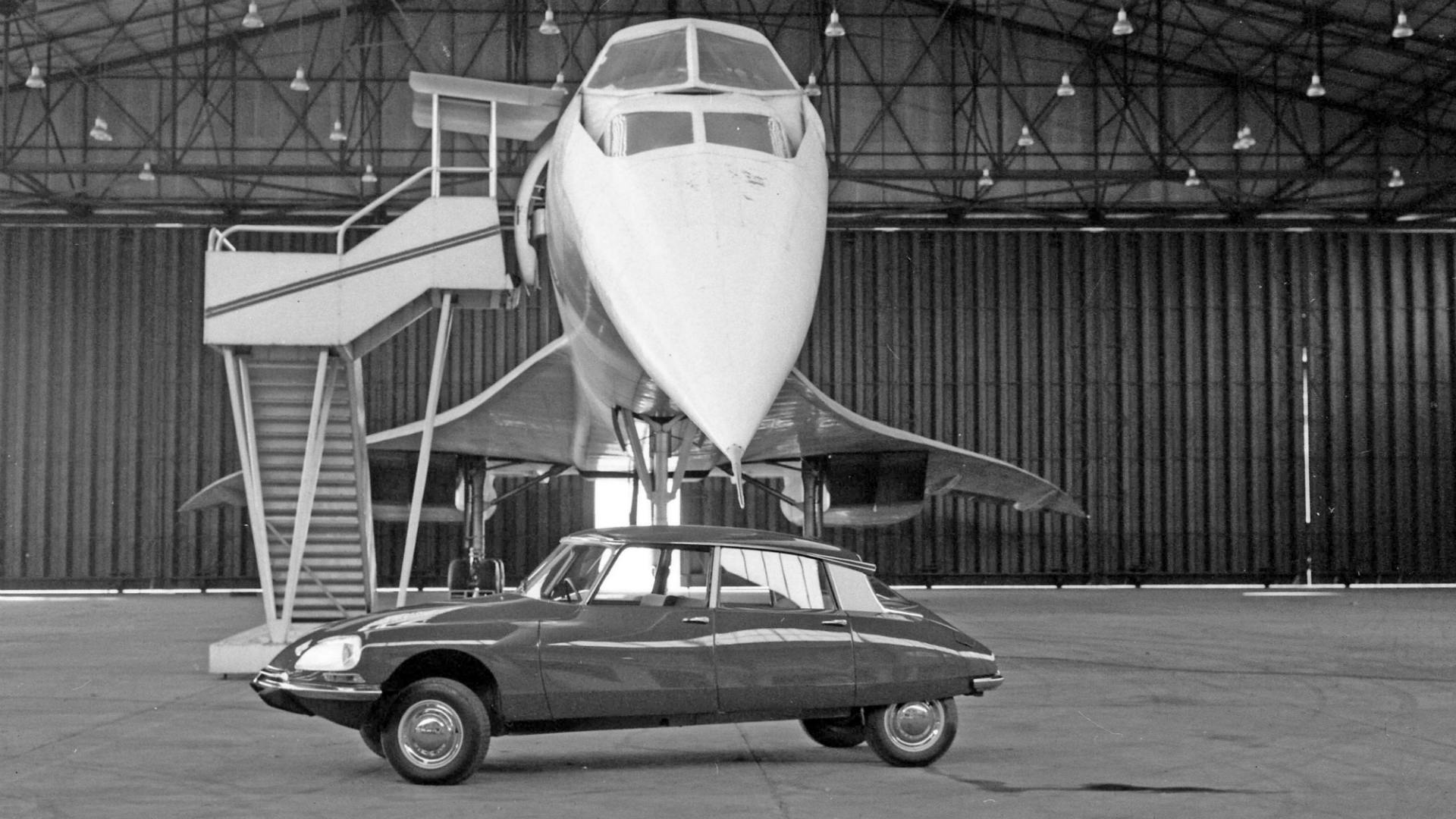 Citroen DS and Concorde