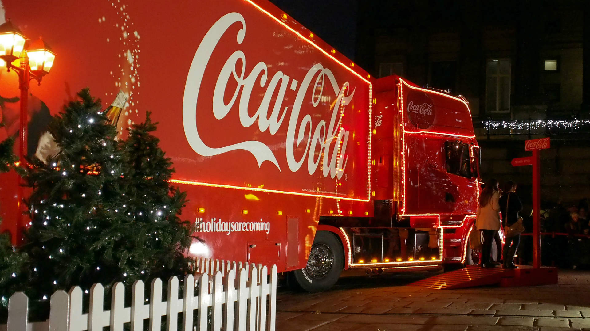 Coca-Cola Christmas lorry