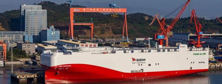 Volkswagen LNG freighters