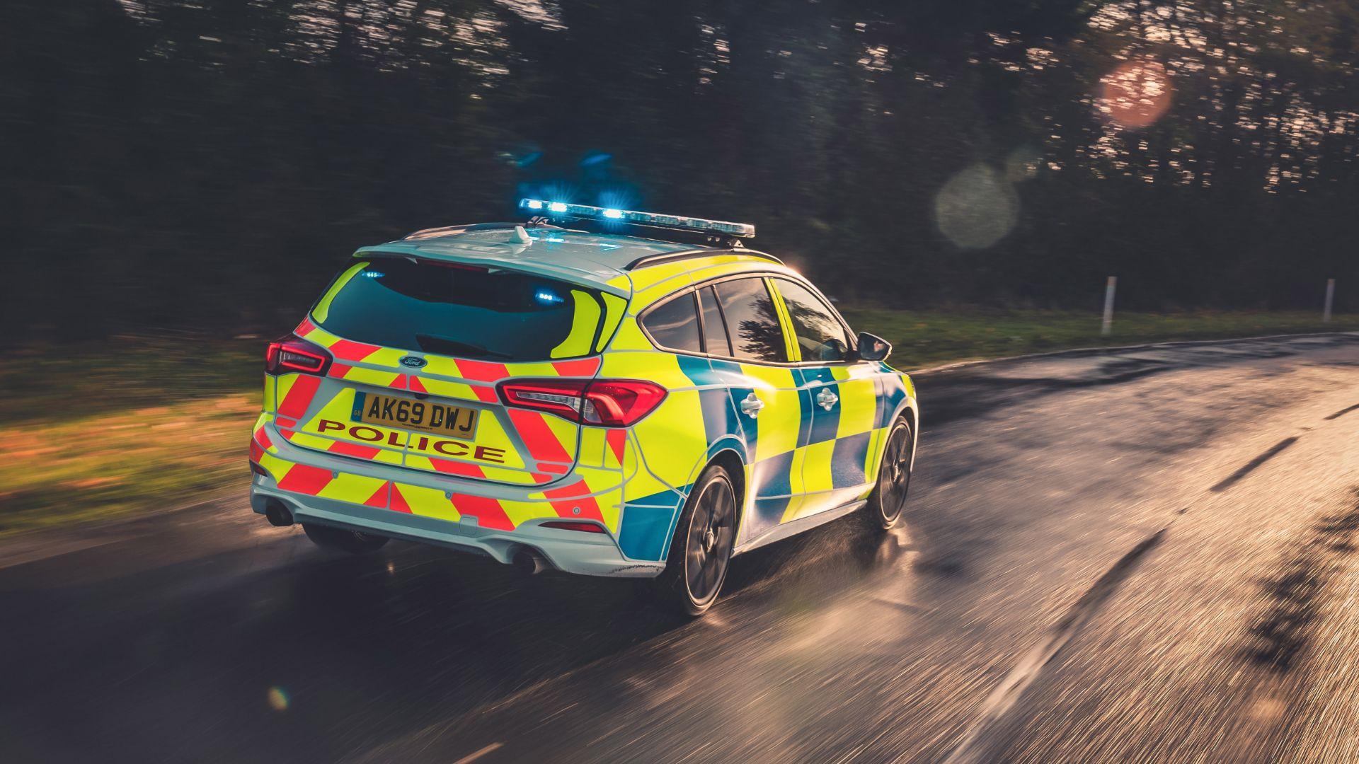 Ford Raptor police car