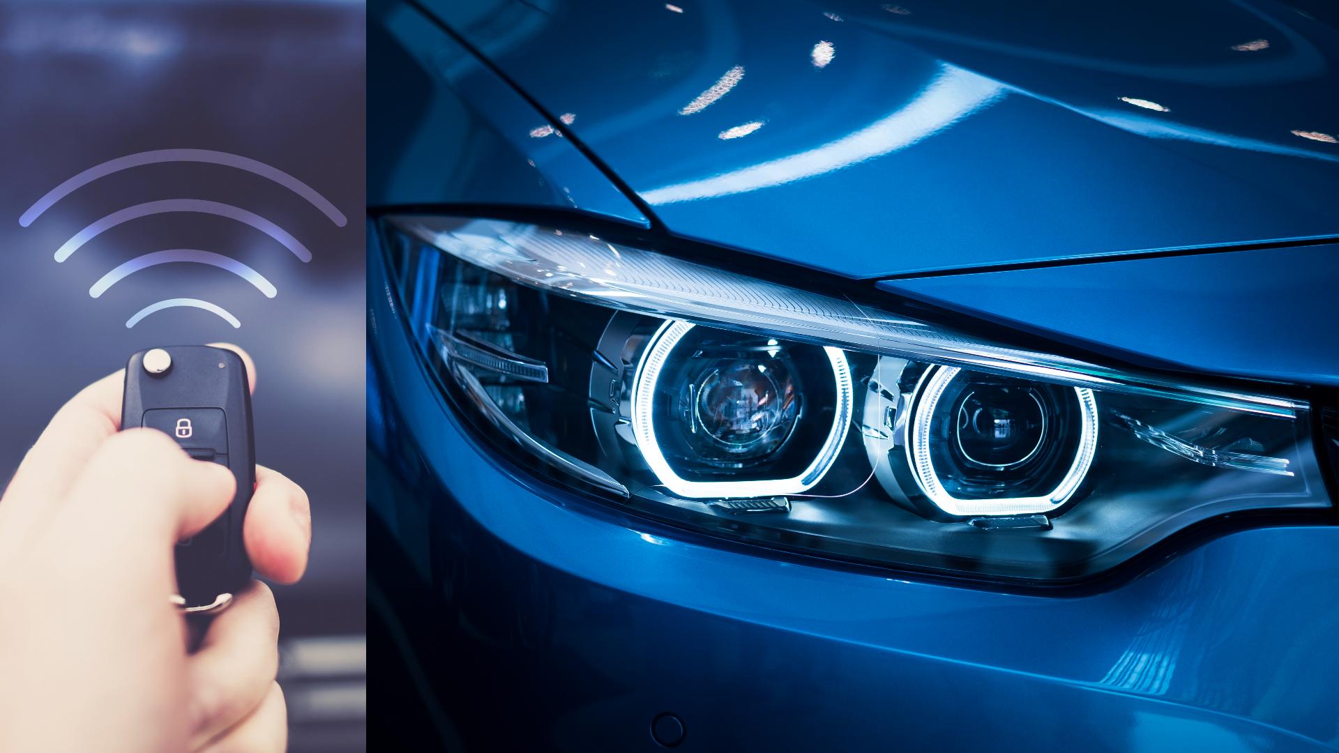 Keyless car theft 'sleeping keys'