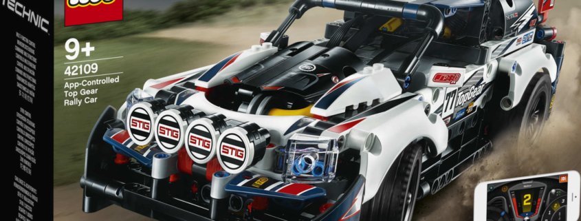 Lego Top Gear Rally Car