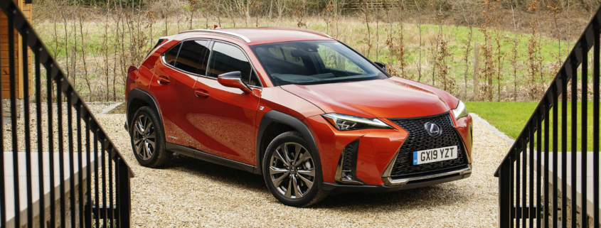 Lexus self-charging hybrid advert