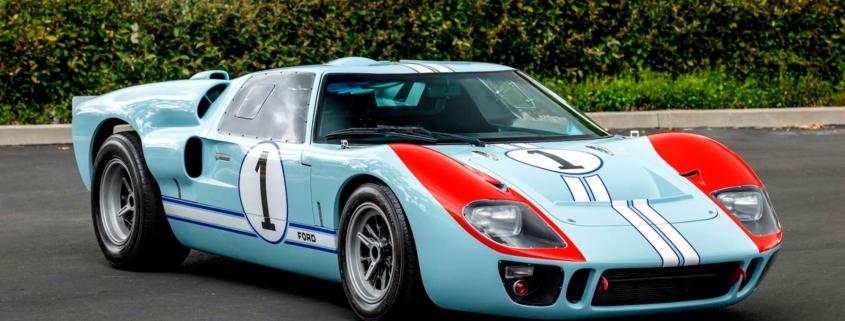 Mecum Ford v Ferrari Replica GT40