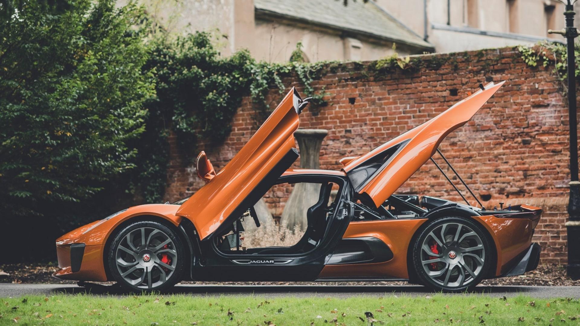 James Bond spectre Jaguar sale