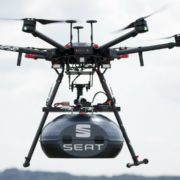 Seat drone used to deliver steering wheel