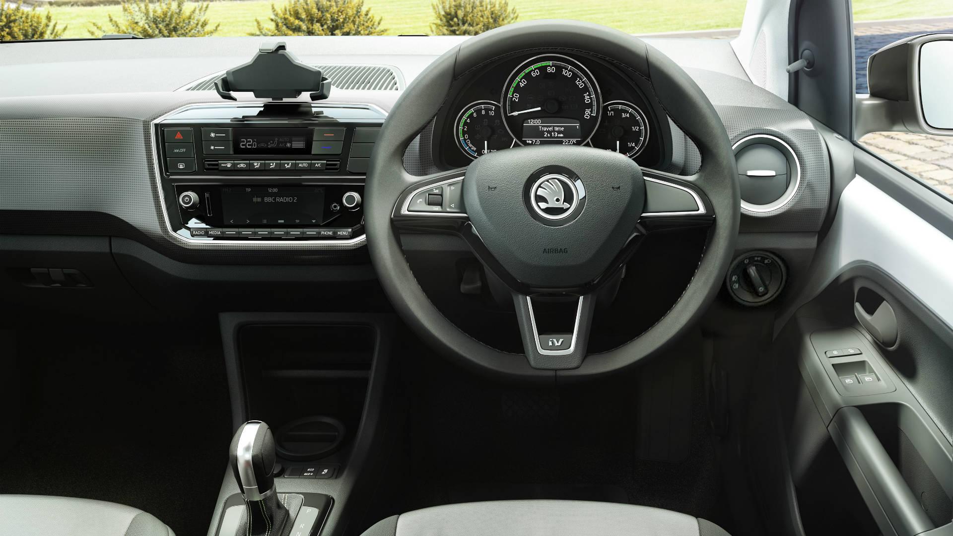 Skoda Citigo electric car interior