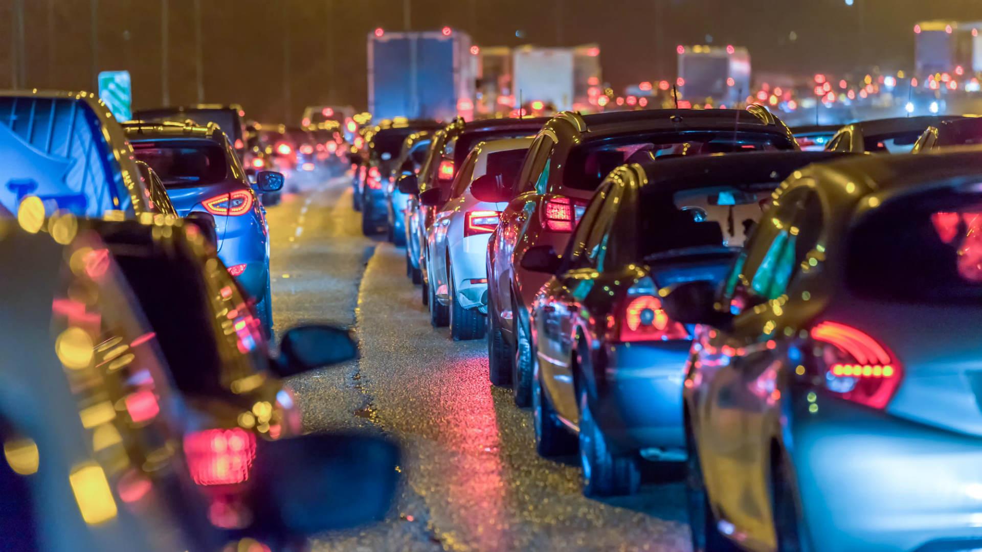 UK traffic jam