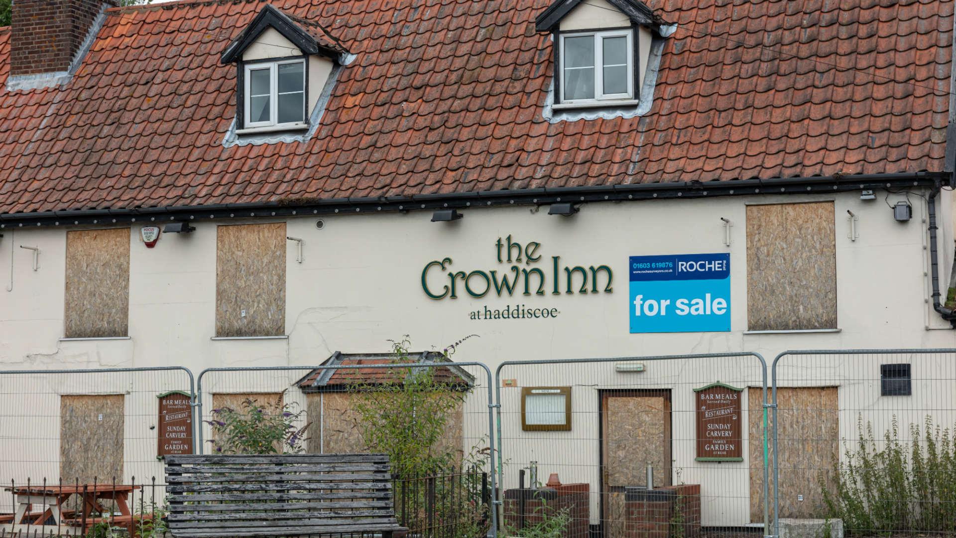 Village pub closure