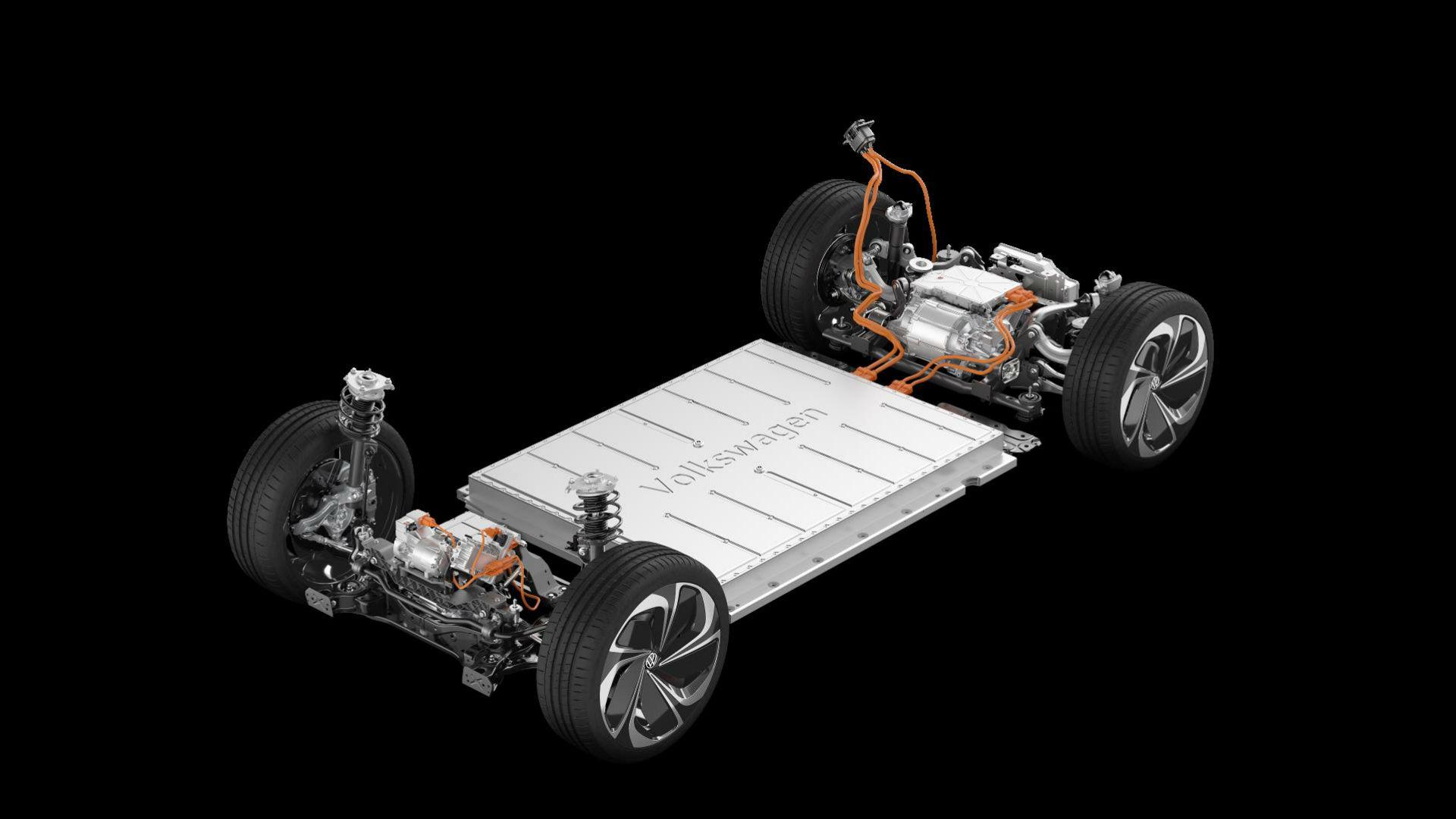 Volkswagen ID Vizzion platform