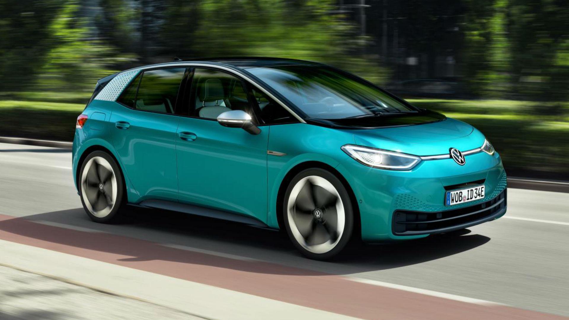 Volkswagen ID3 electric car