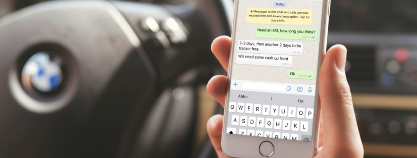 Car thieves use whatsapp for planning