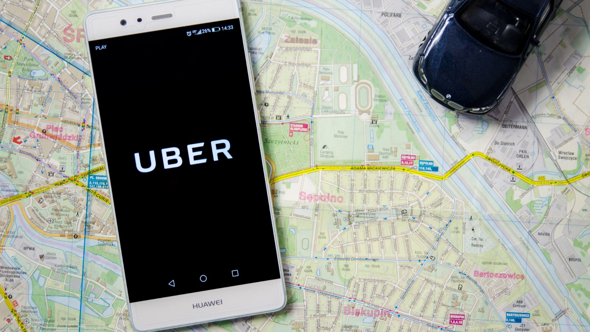 Uber London emissions