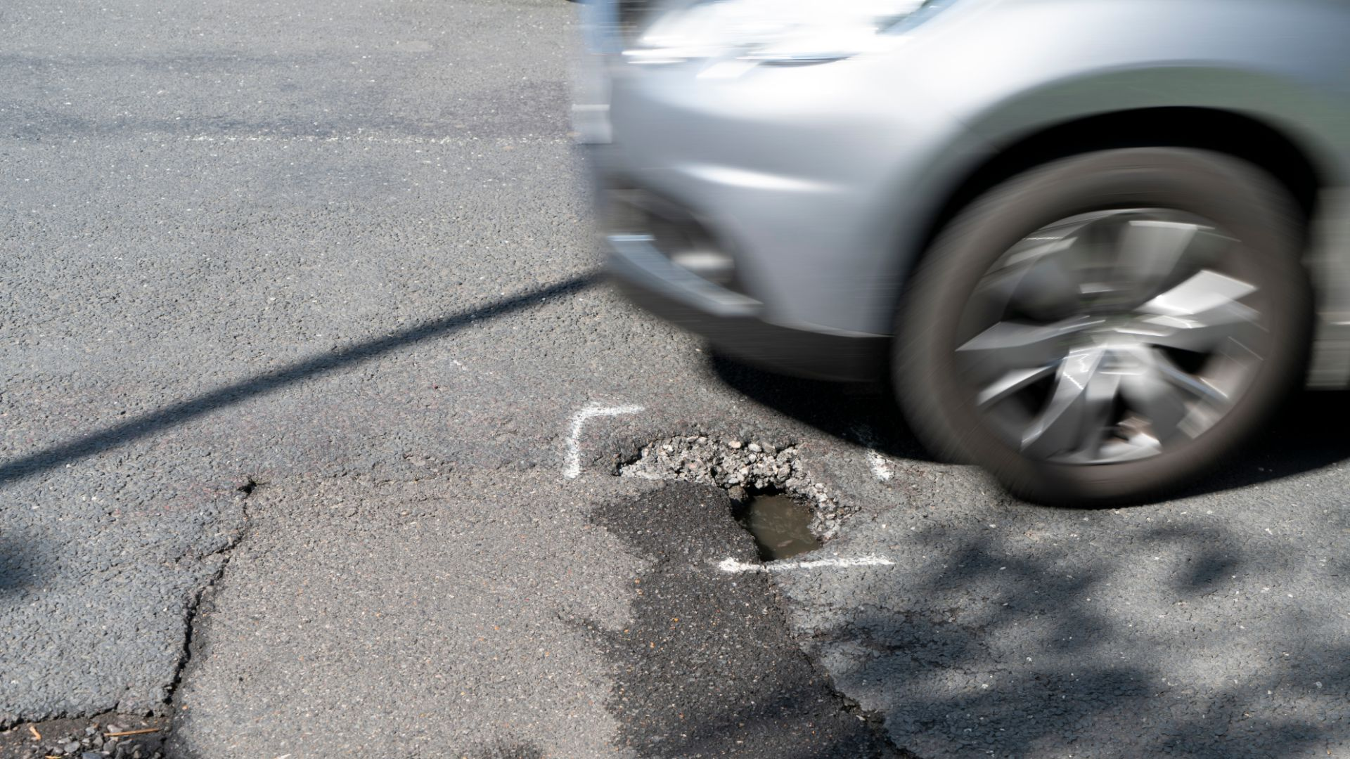 Worst pothole in the UK