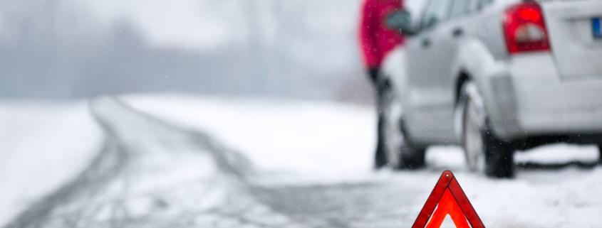 Winter breakdowns RAC