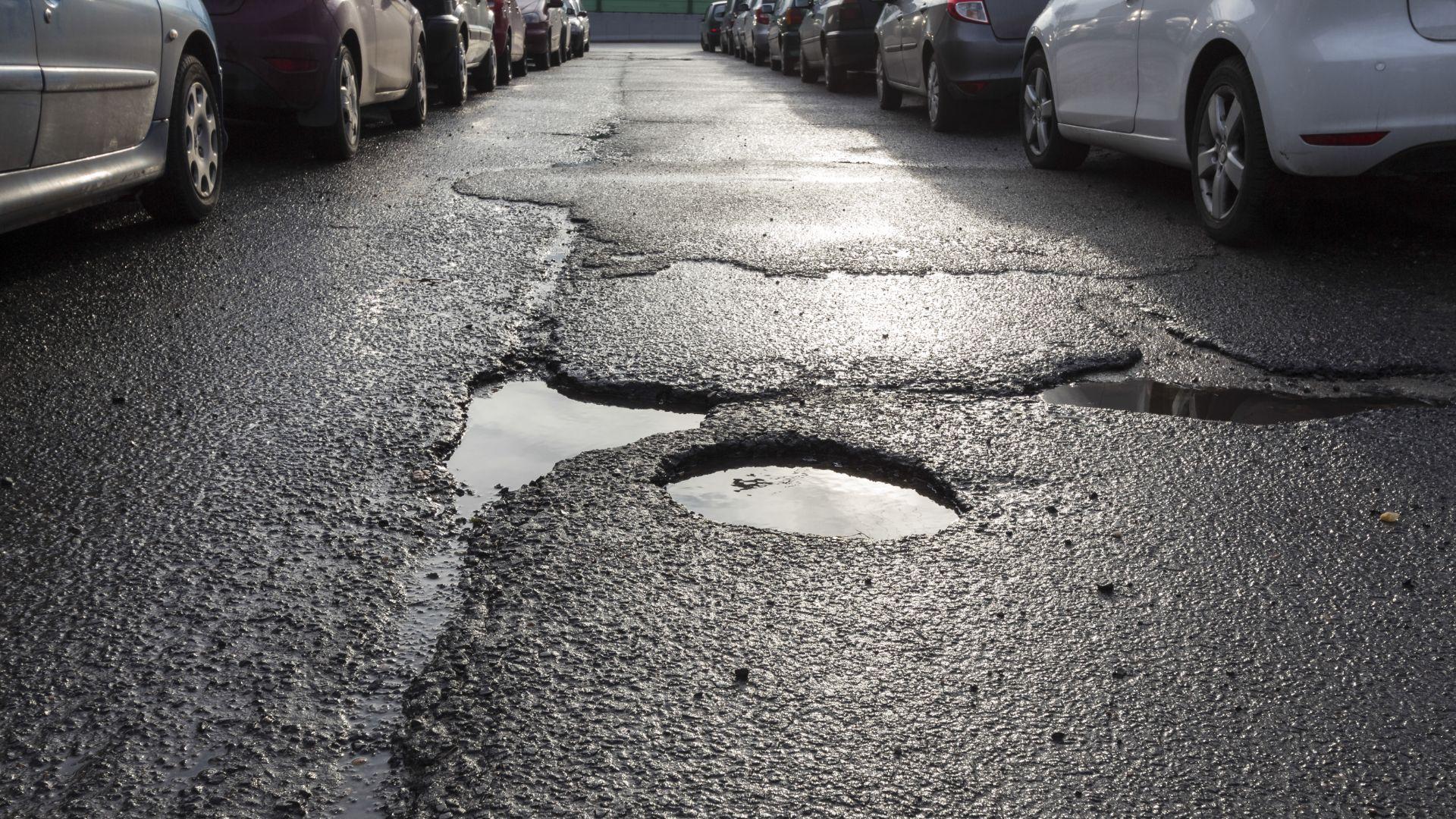 Worst pothole in the UK