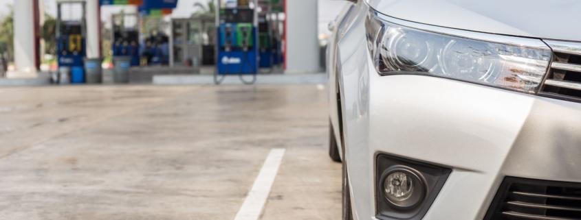 parking fines petrol station