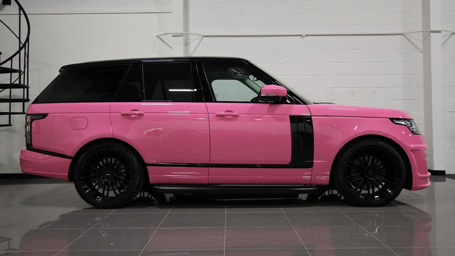 Katie Price pink Range Rover for sale