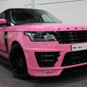 Katie Price pink Range Rover for sale