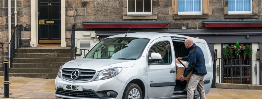 Van drivers feel pressure to deliver Christmas