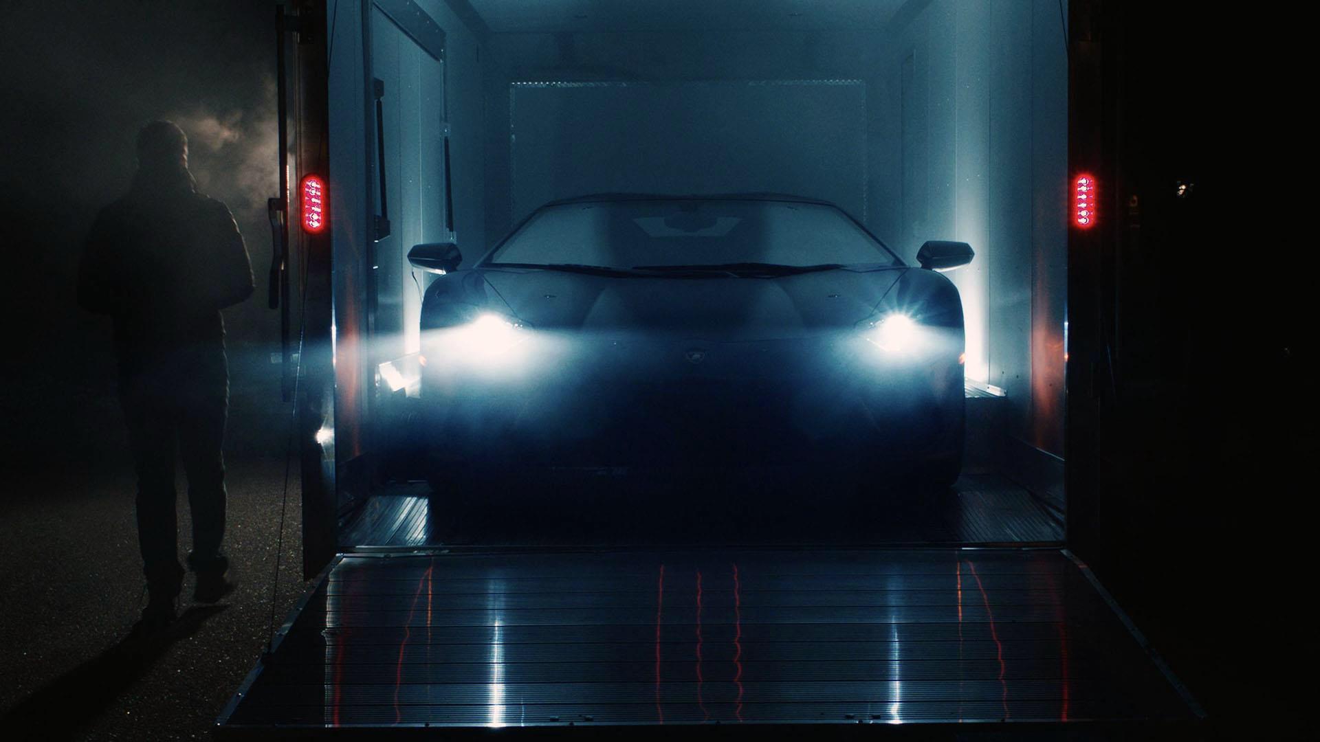 3D Printed Lamborghini Aventador Christmas Gift