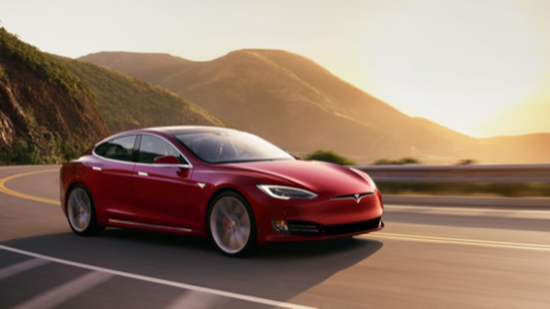 Tesla Model S Enterprise Rent-A-Car