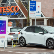 Electric car owners can charge for FREE at Tesco