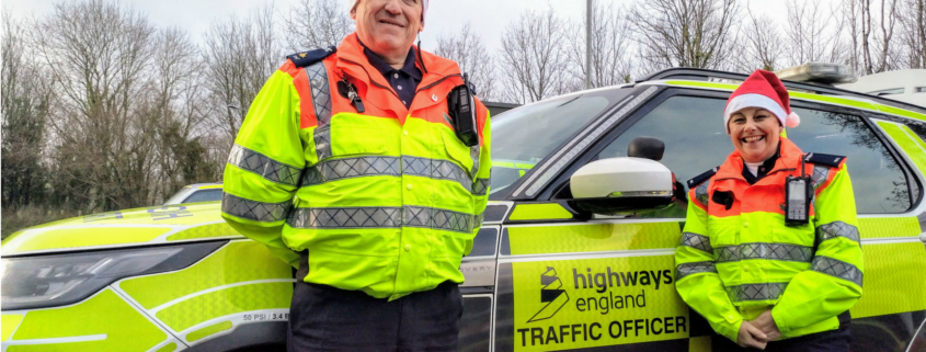 Highways England keeping roads clear Christmas Day