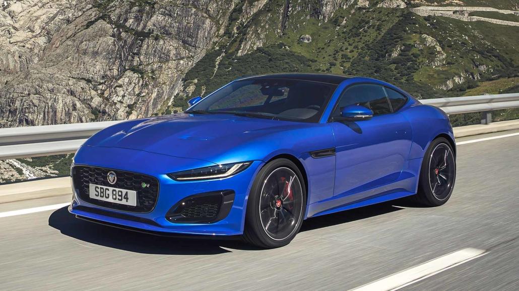 jaguar ftype facelift revealed 2021 model gets new eyes