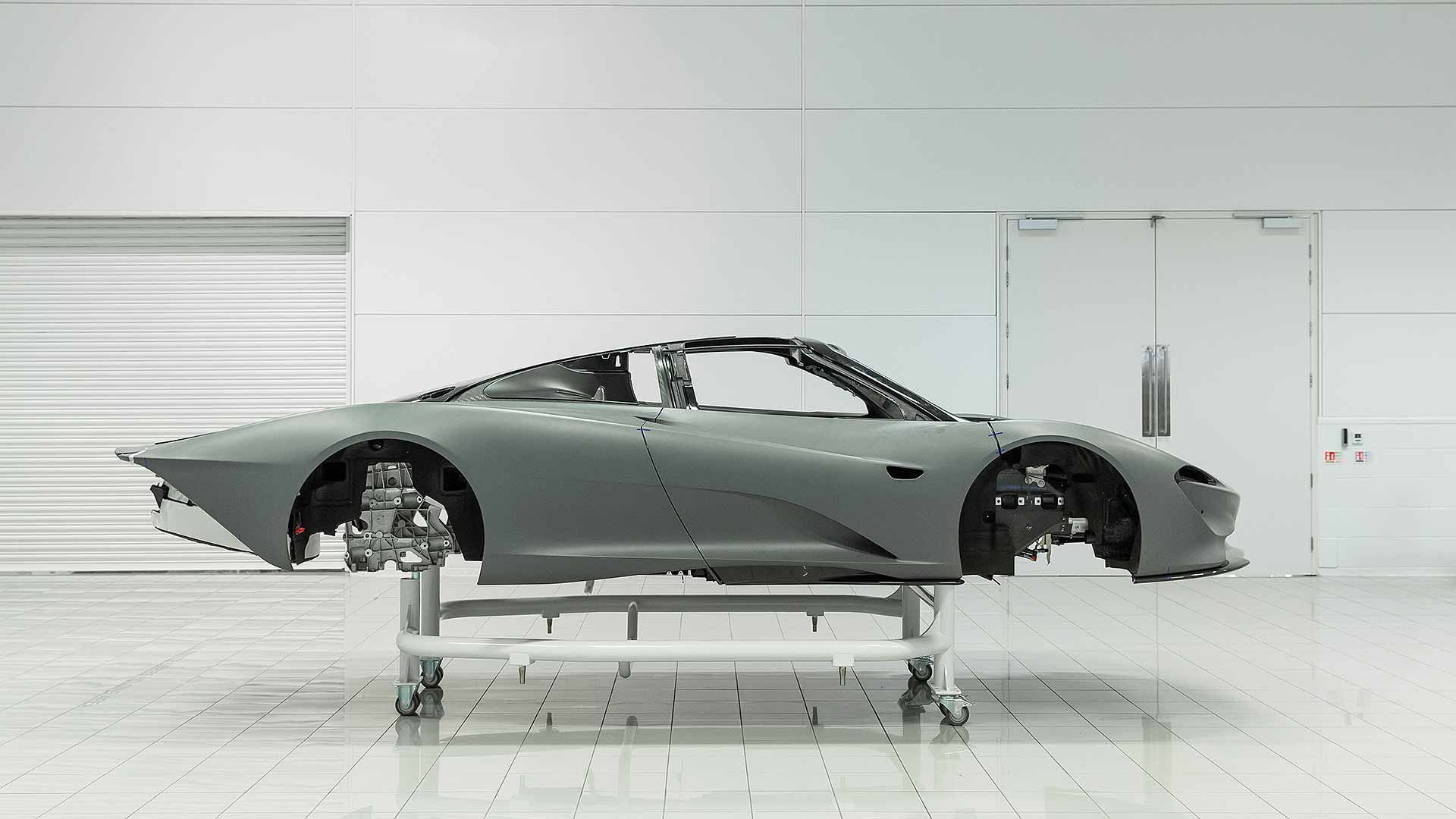 McLaren Speedtail development