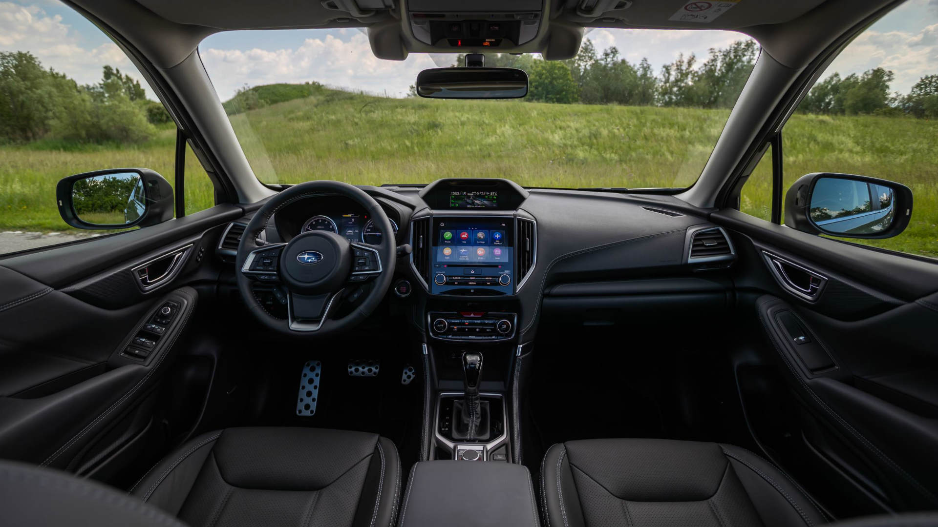 New Subaru Forester hybrid interior