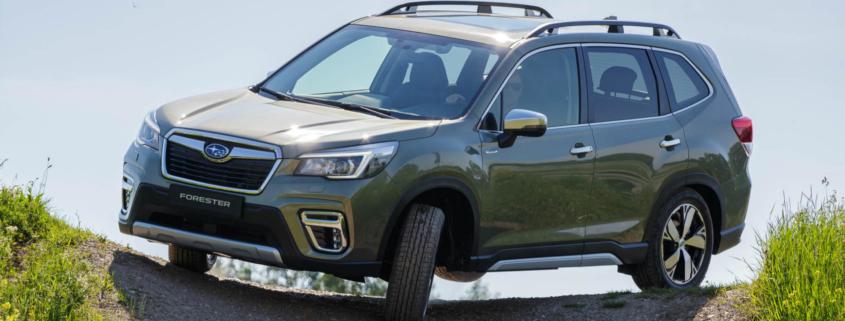 New Subaru Forester hybrid off-road