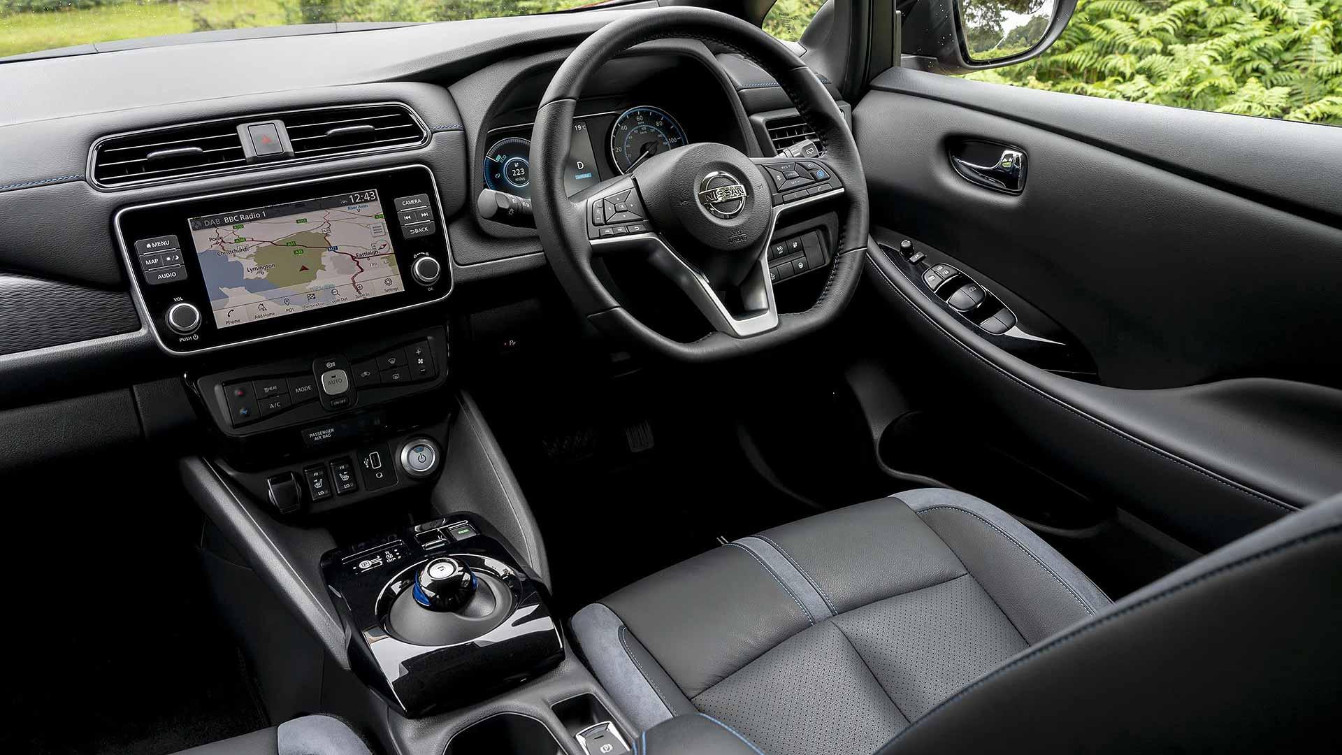 Nissan Leaf e-Plus interior