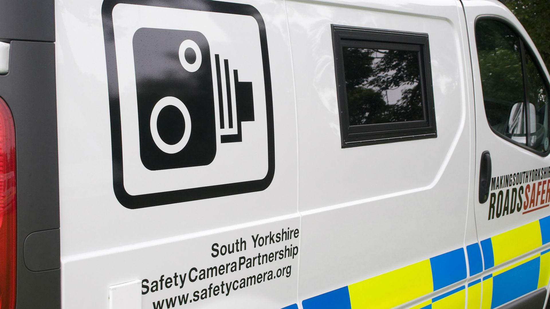 Safety camera partnership van