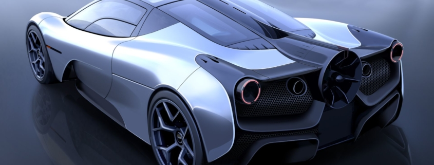 Gordon Murray T.50 supercar McLaren F1 successor