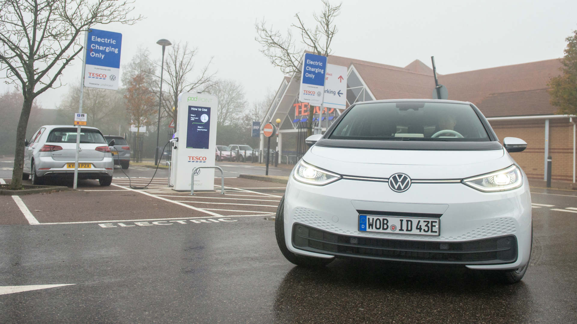 Volkswagen ID.3 at Tesco