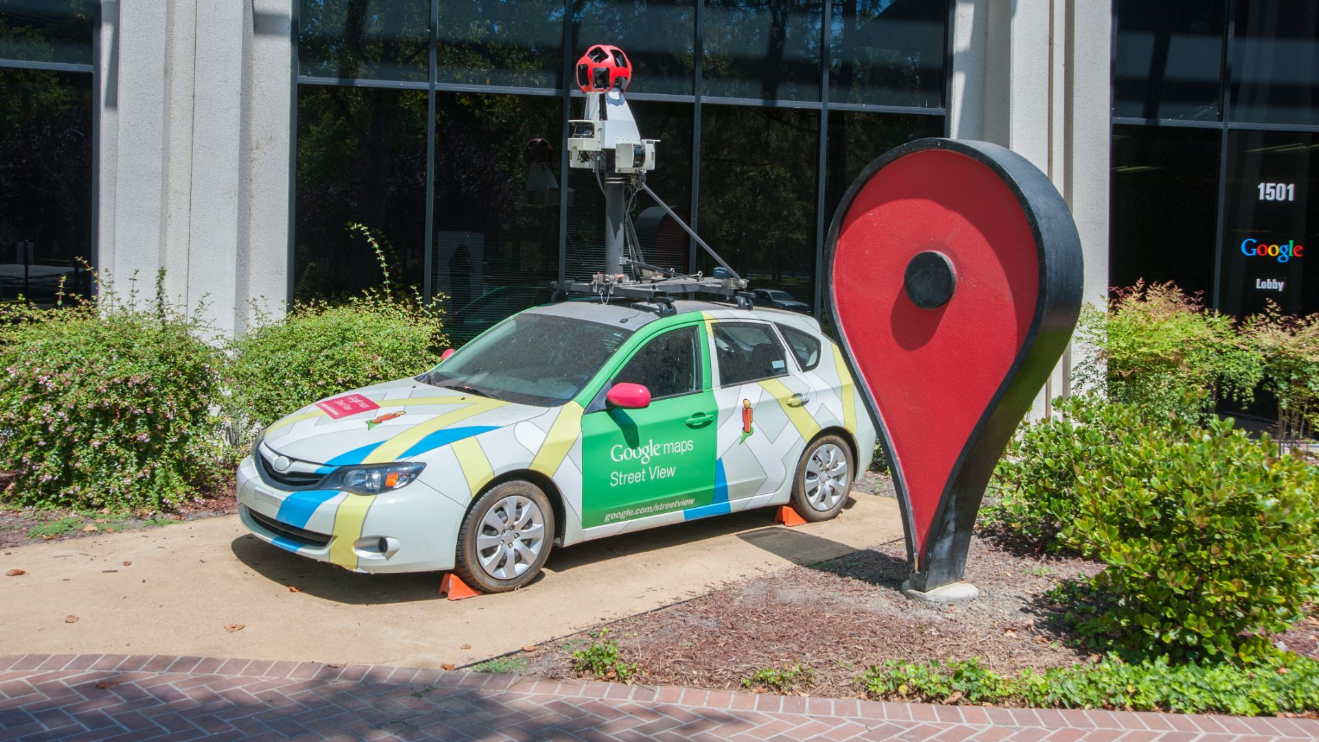 Google street view cars rack up 10 million miles