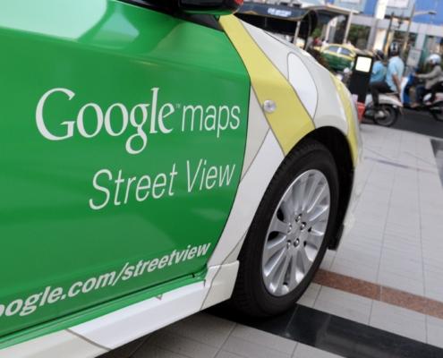 Google street view cars rack up 10 million miles