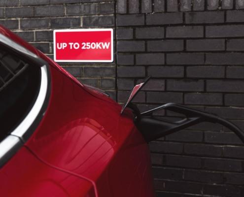 Tesla V3 supercharger in London