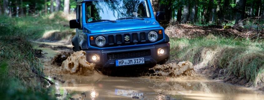 Suzuki Jimny off sale emissions