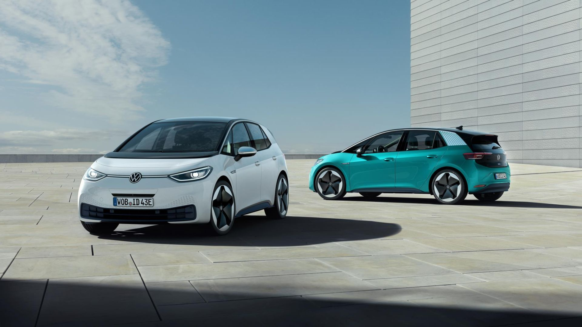 Volkswagen electric car production