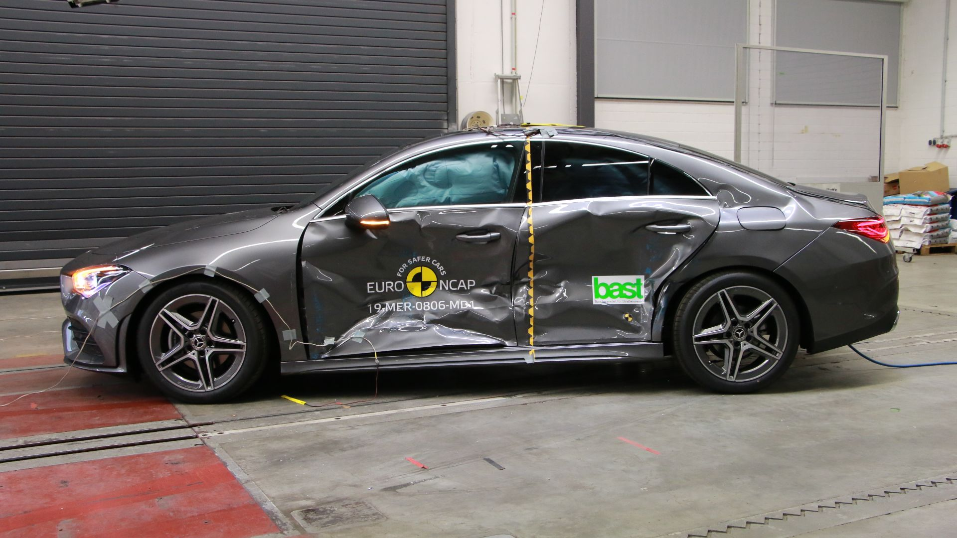 Euro NCAP safest cars of last year