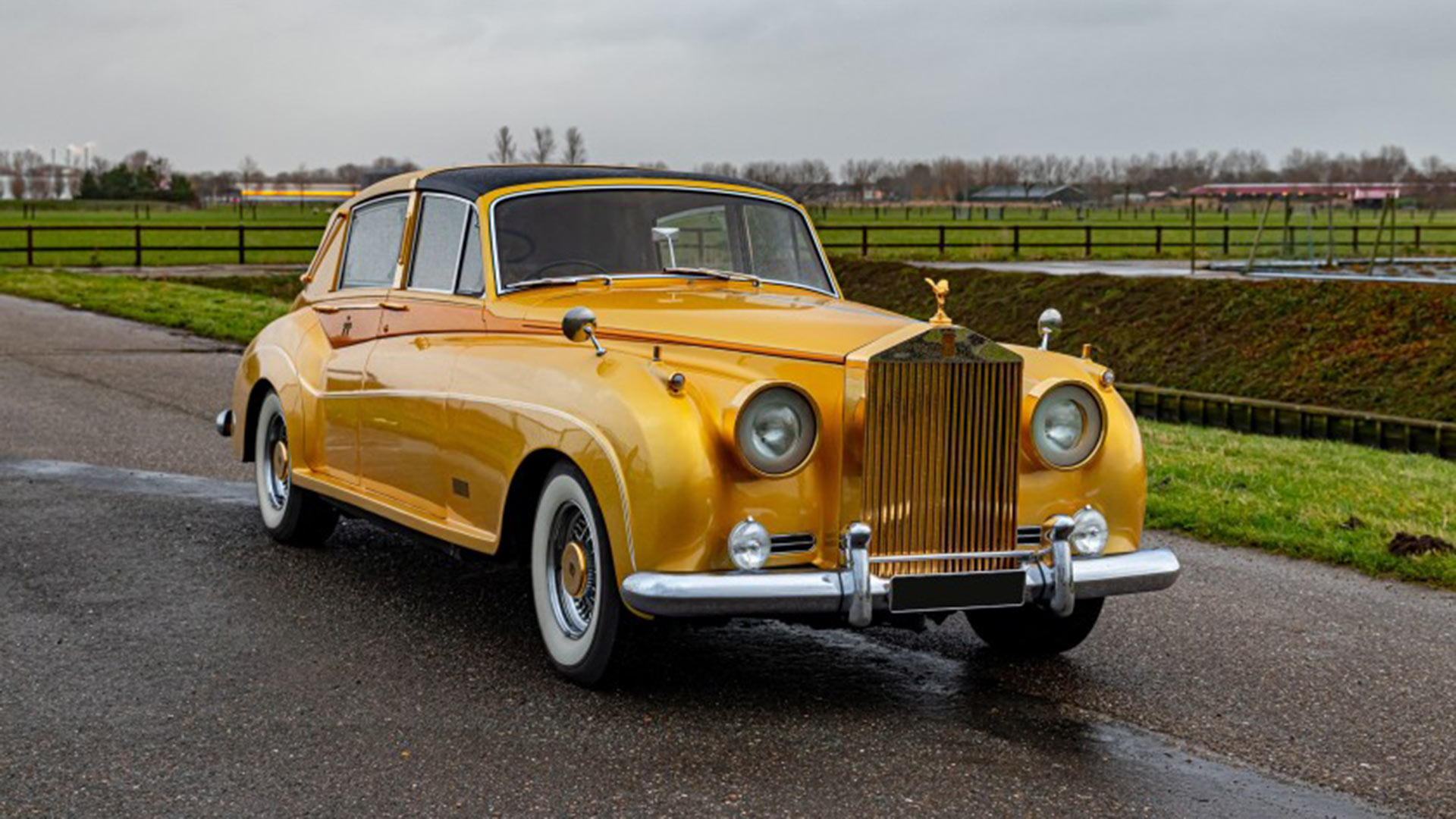 This Incredible Golden 1961 Rolls Royce Was Customized By George Barris Motoring Research