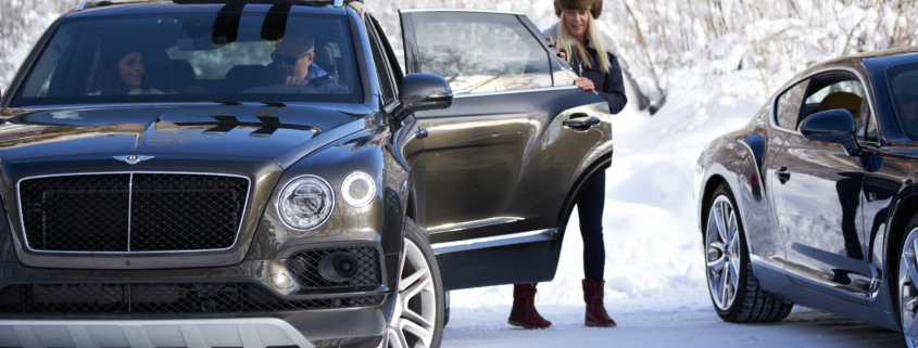 Bentley and Bomber ski experience